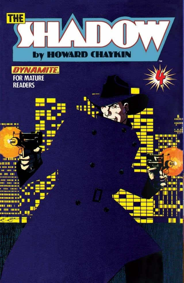 The Shadow: Blood & Judgment (Dynamite) #4