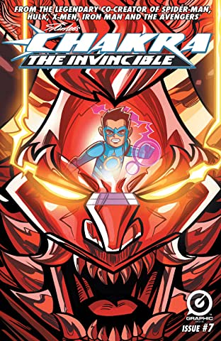 Stan Lee's Chakra The Invincible #7