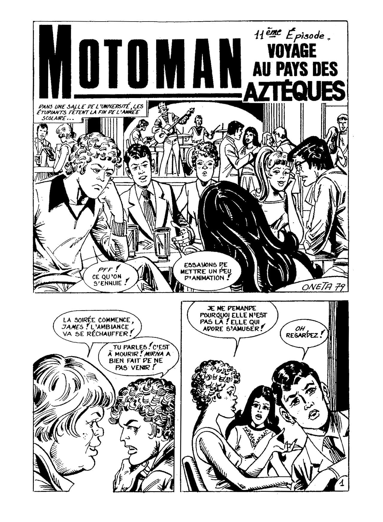MOTOMAN Vol. 11: Voyage au pays des Azteques