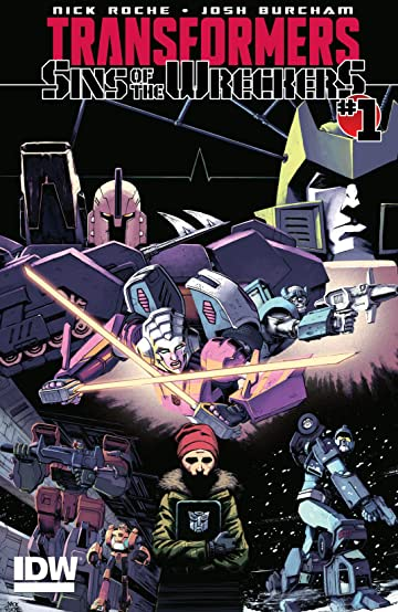 Transformers: Sins of the Wreckers #1 (of 5)