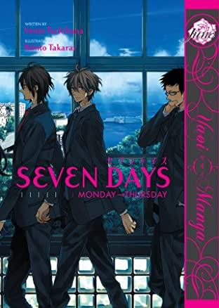Seven Days Tome 1: Monday - Thursday Preview