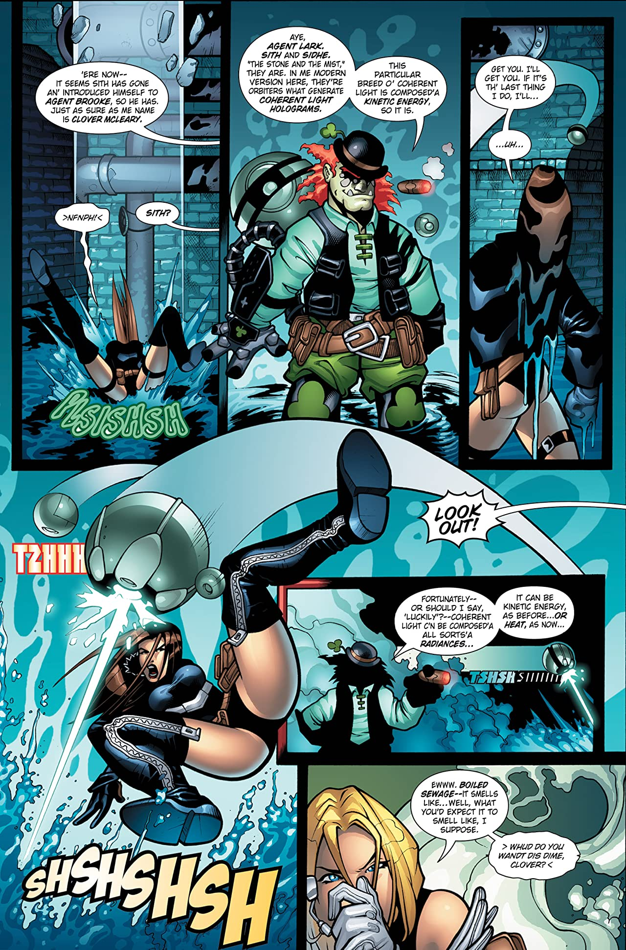 Victoria's Secret Service: Nemesis Rising #1 (of 5)