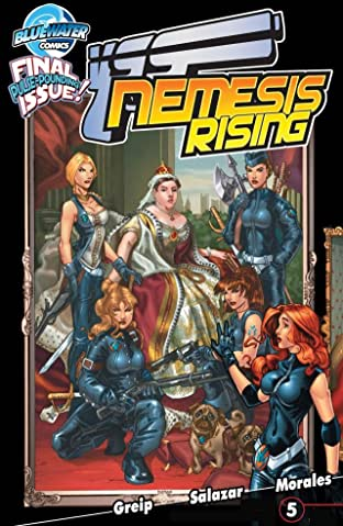 Victoria's Secret Service: Nemesis Rising #5 (of 5)