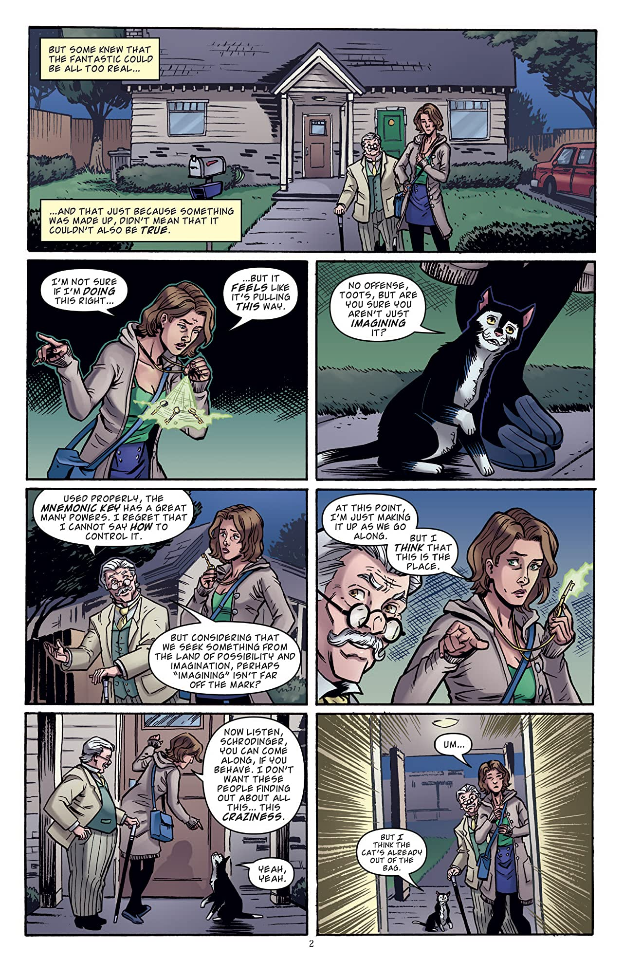 Memorial: Imaginary Fiends #2 (of 9)