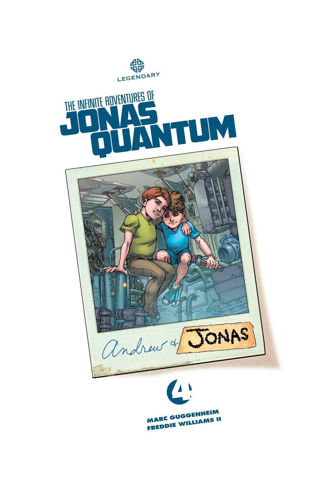 The Infinite Adventures of Jonas Quantum #4