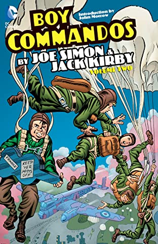 Boy Commandos by Joe Simon and Jack Kirby Tome 2