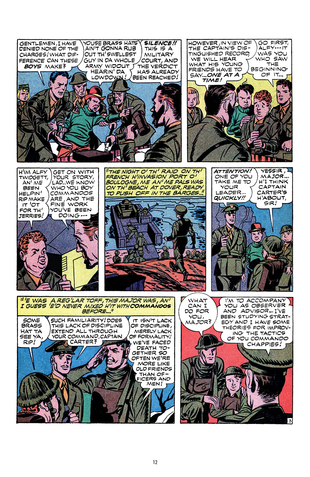 Boy Commandos by Joe Simon and Jack Kirby Tome 2