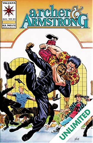 Archer & Armstrong (1992-1994) #24