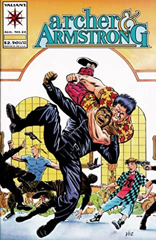 Archer & Armstrong (1992-1994) No.24