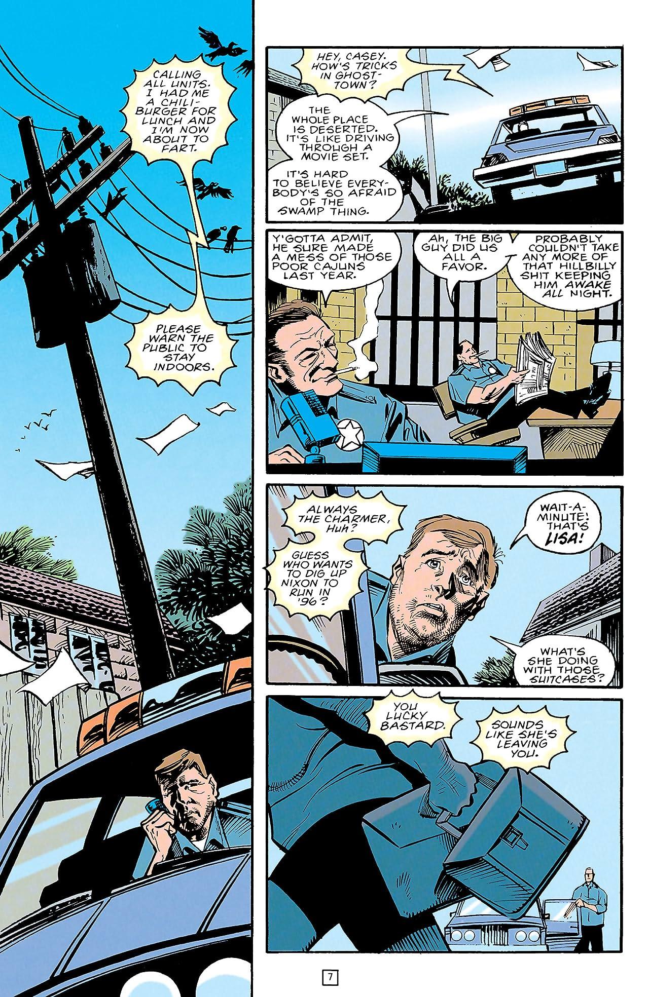 Swamp Thing (1982-1996) #151