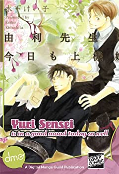 Yuri Sensei Is In A Good Mood Today As Well