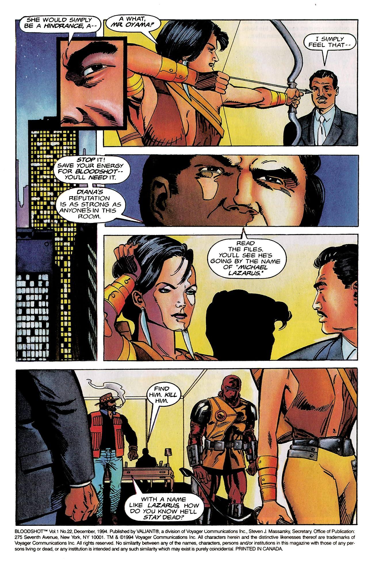 Bloodshot (1993-1996) #22