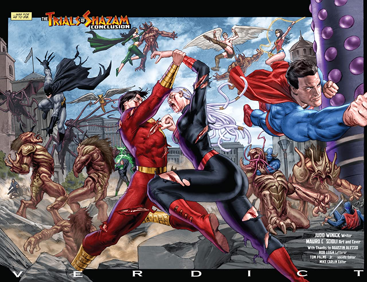 Trials of Shazam (2006-2008) #12