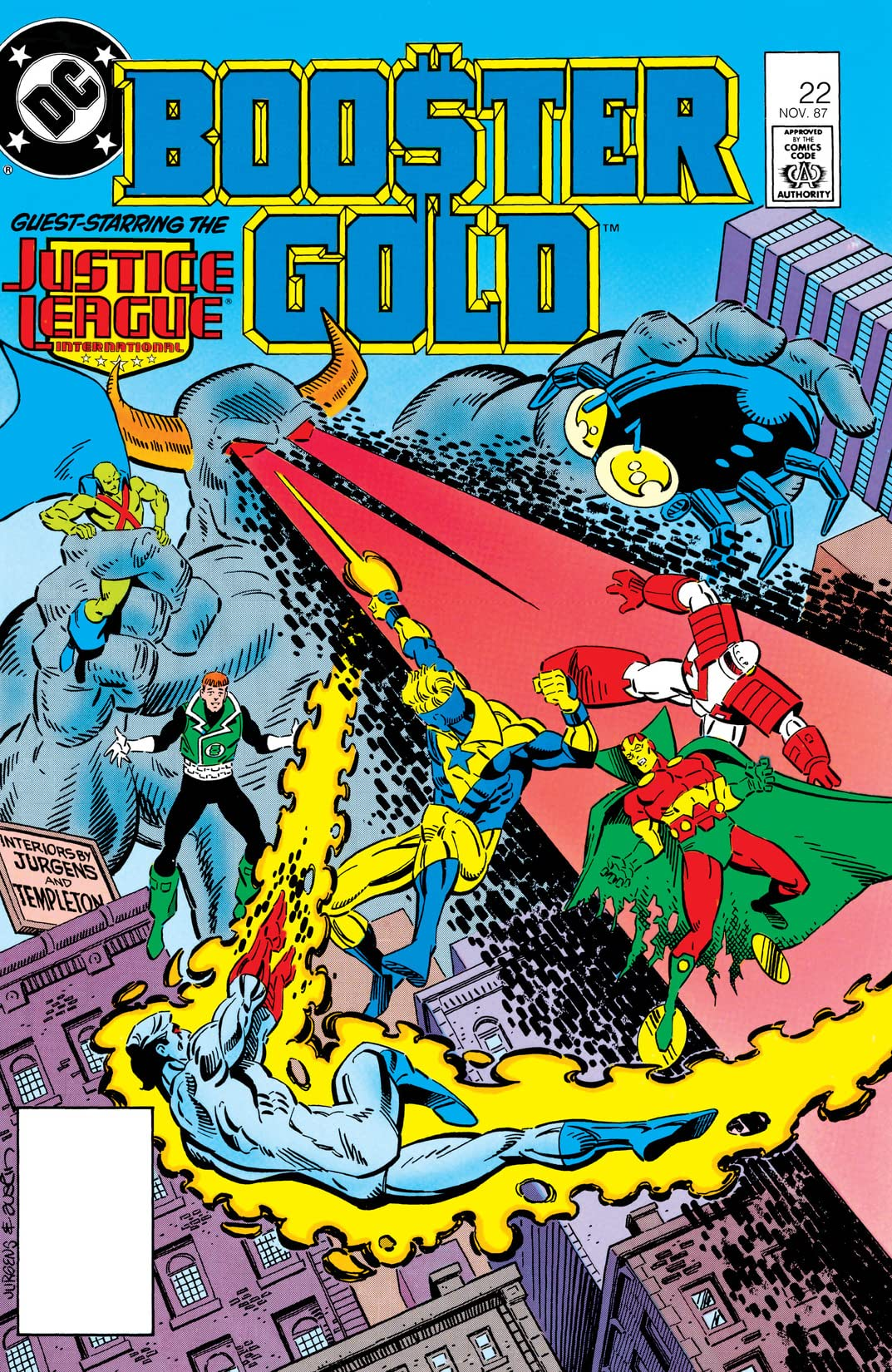 Booster Gold (1986-1988) #22