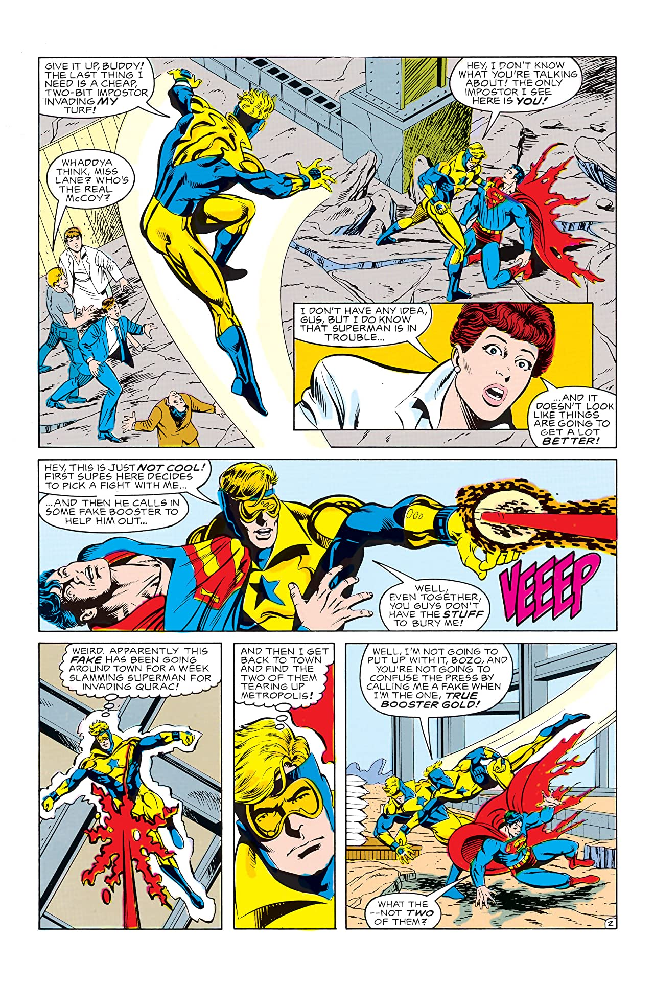 Booster Gold (1986-1988) #23
