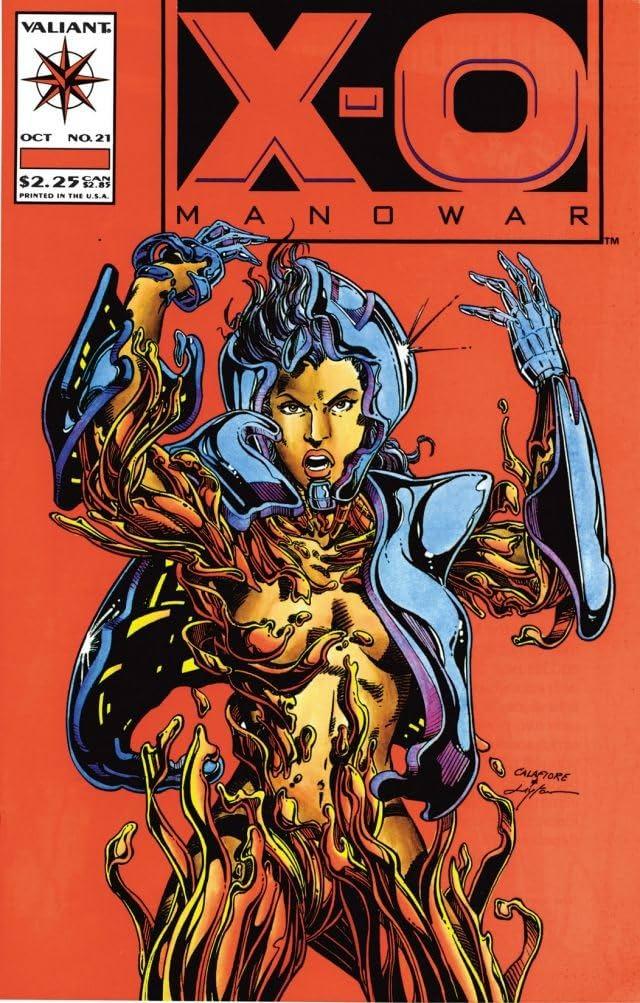 X-O Manowar (1992-1996) #21