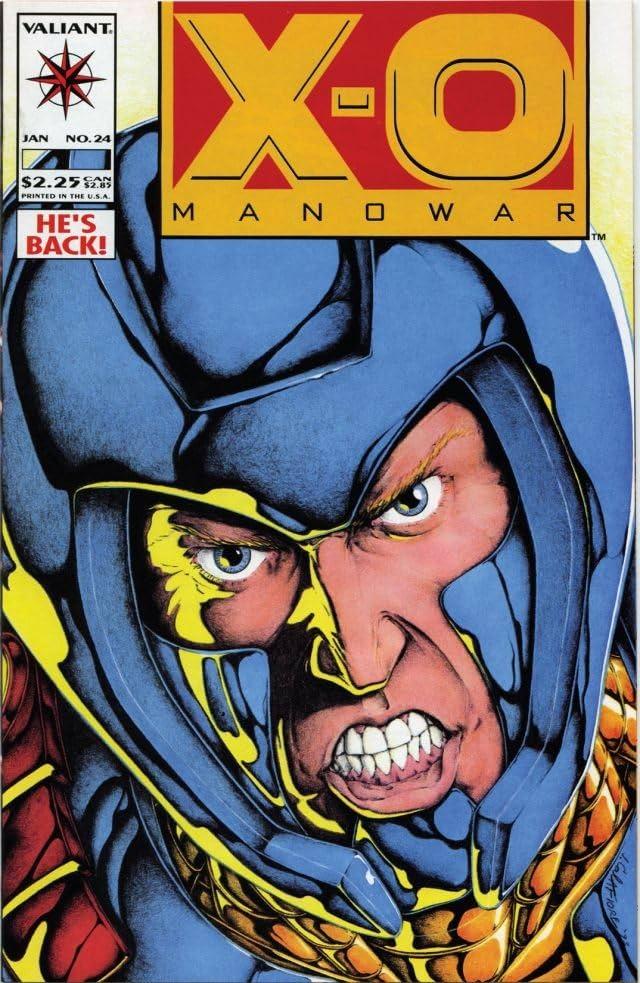 X-O Manowar (1992-1996) #24