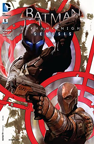 Batman: Arkham Knight - Genesis (2015-2016) #5