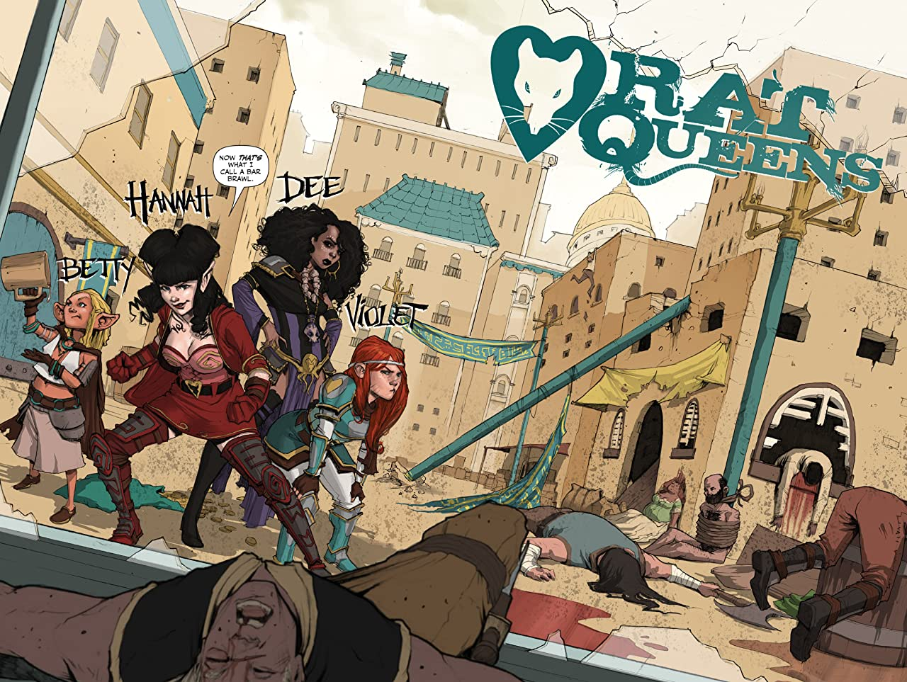 Rat Queens: The Deluxe Edition Vol. 1