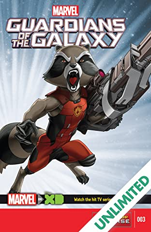 Marvel Universe Guardians of the Galaxy (2015-) #3