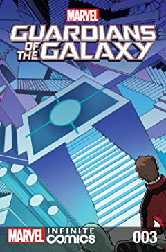 Marvel Universe Guardians of the Galaxy Infinite Comic #3