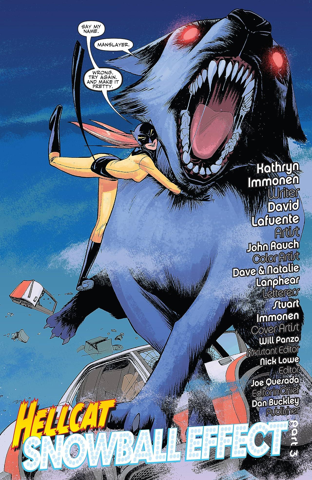 Patsy Walker: Hellcat (2008-2009) #3 (of 5)