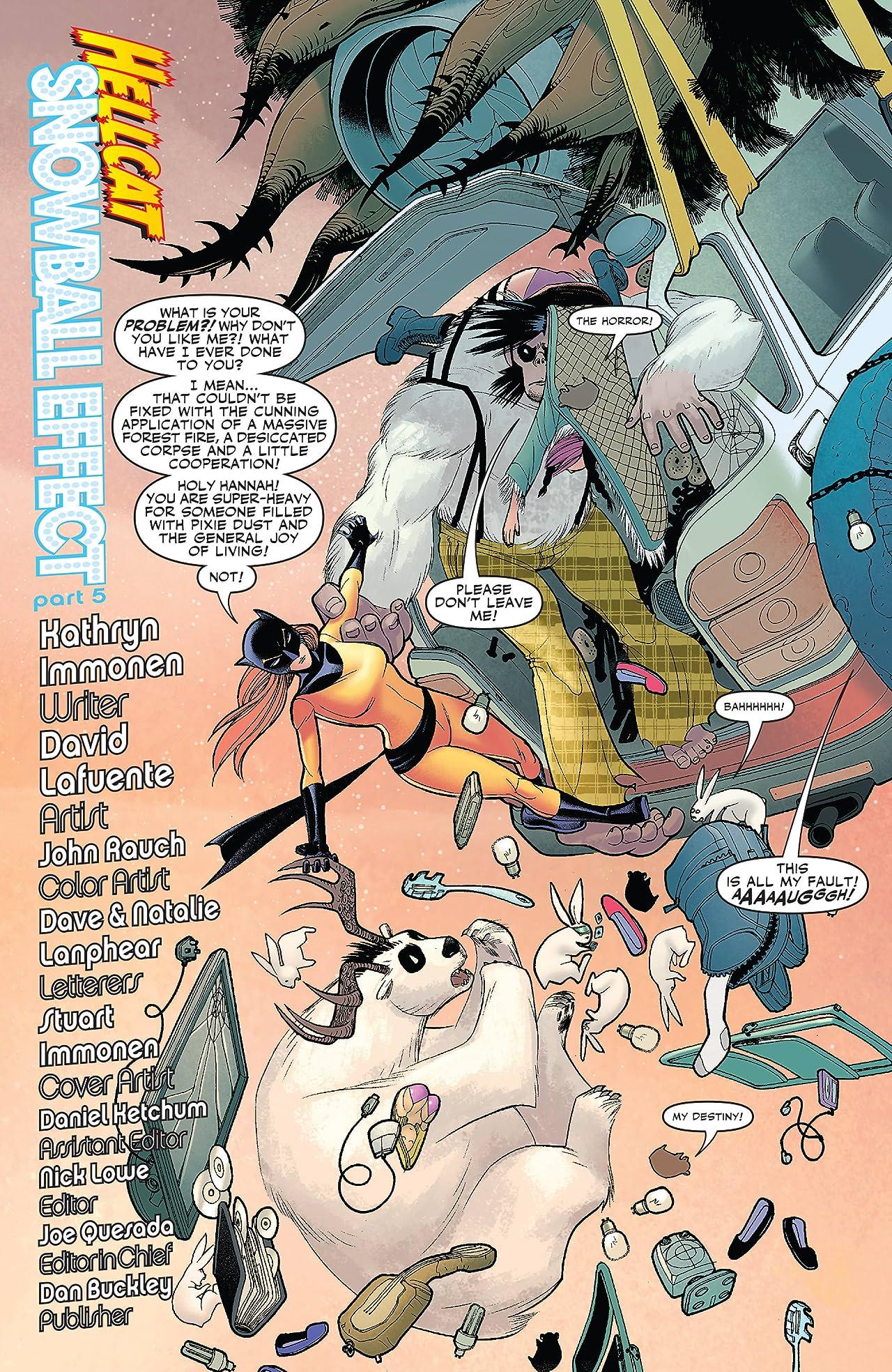 Patsy Walker: Hellcat (2008-2009) #5 (of 5)