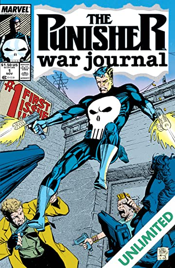 Punisher War Journal (1988-1995) #1
