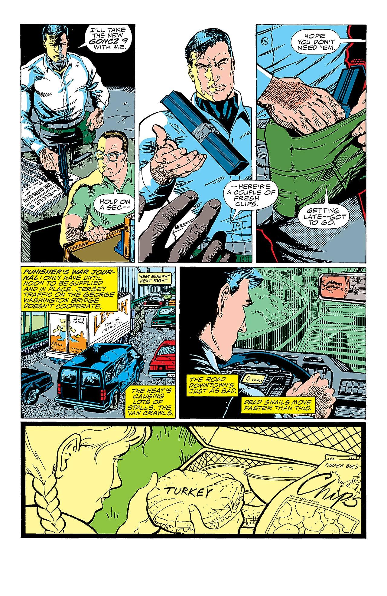 Punisher War Journal (1988-1995) #1
