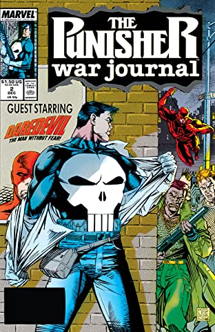 Punisher War Journal (1988-1995) #2