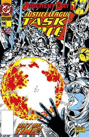 Justice League Task Force (1993-1996) No.14