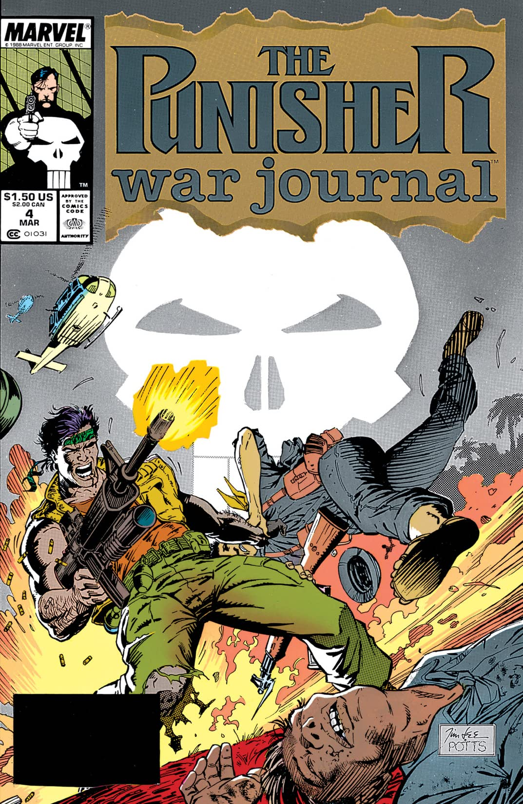 Punisher War Journal (1988-1995) #4