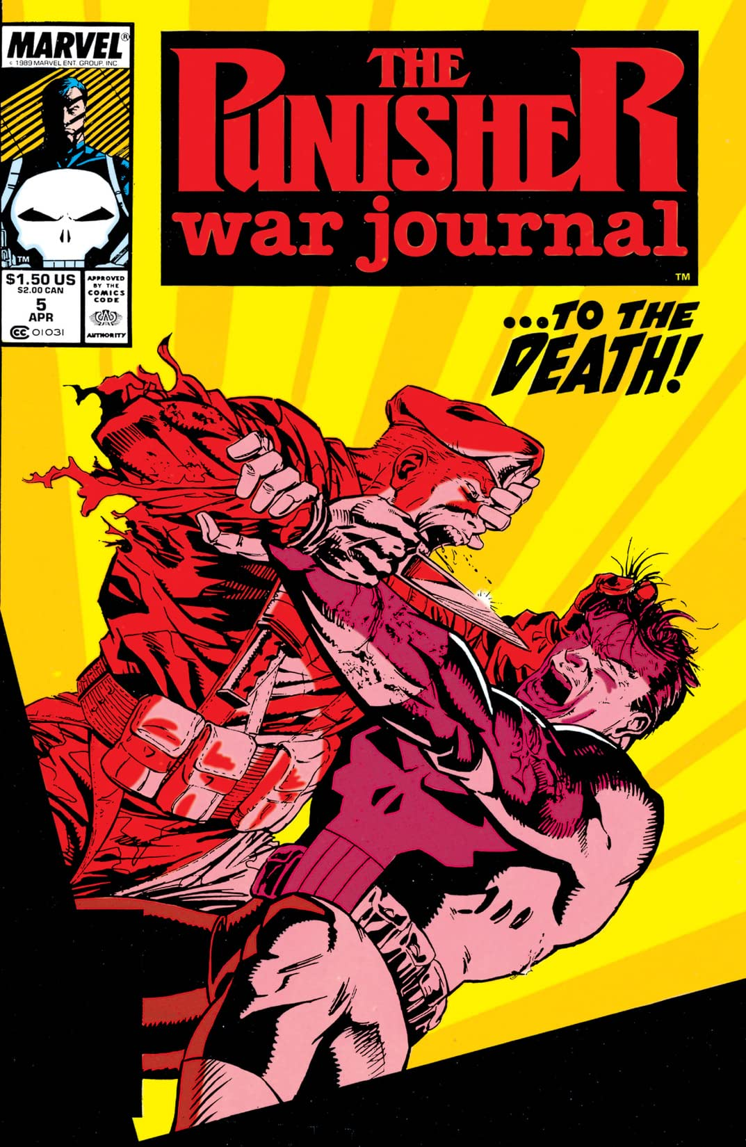 Punisher War Journal (1988-1995) #5
