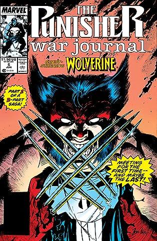 Punisher War Journal (1988-1995) #6