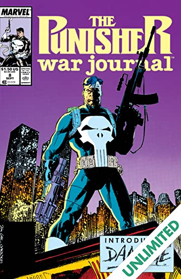 Punisher War Journal (1988-1995) #8