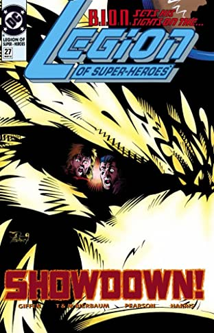 Legion of Super-Heroes (1989-2000) #27