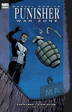 Punisher War Zone (2008-2009) #2 (of 6)