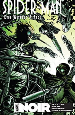 Spider-Man Noir: Eyes Without A Face (2009-2010) #4 (of 4)