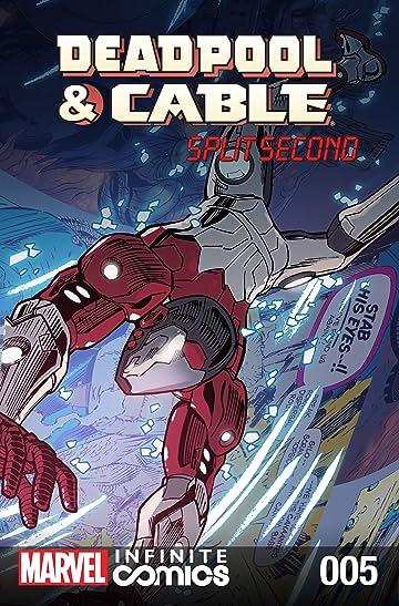 Deadpool & Cable: Split Second Infinite Comic #5