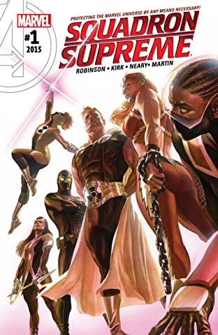 Squadron Supreme (2015-2017) #1