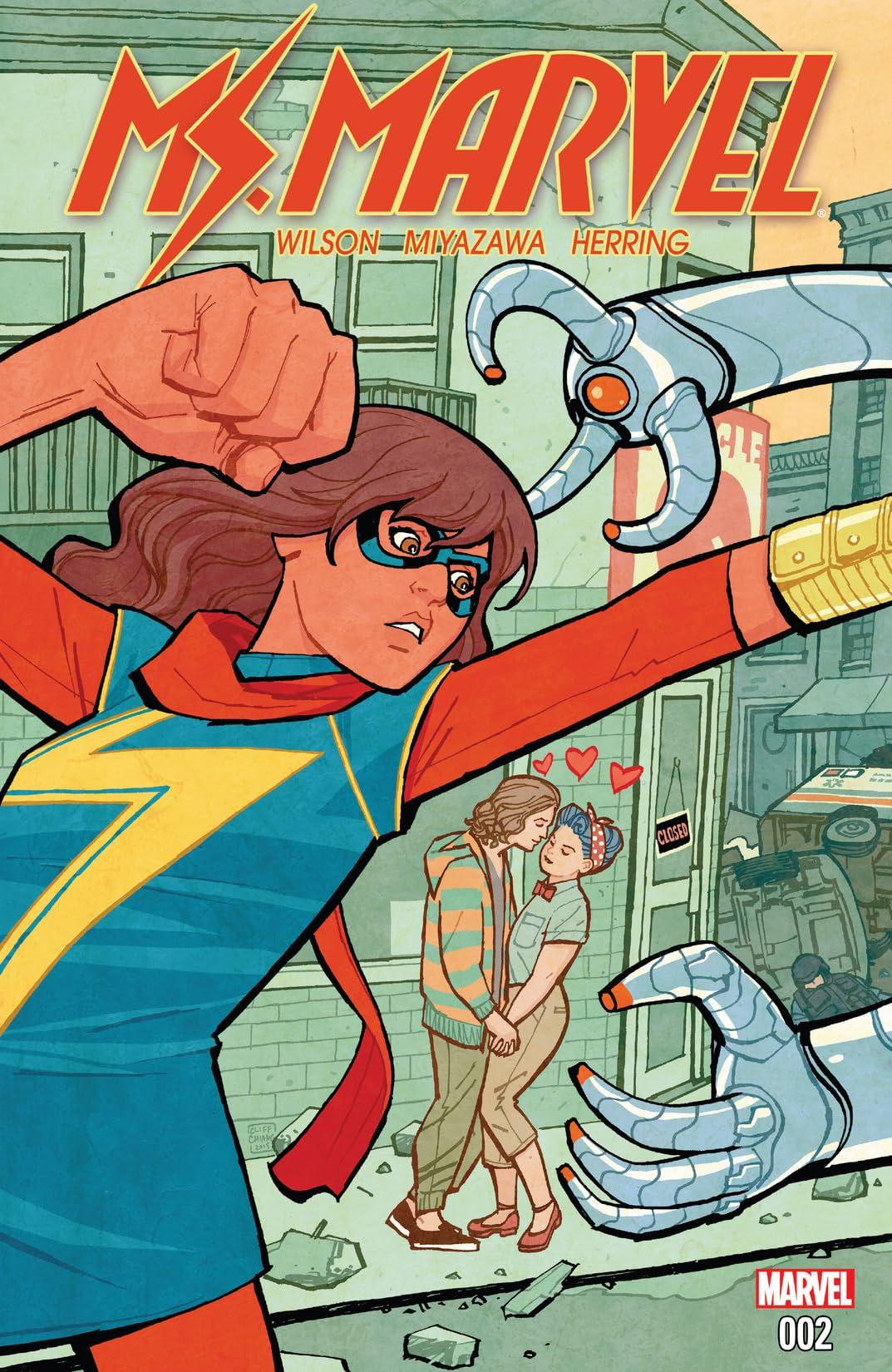 Ms. Marvel (2015-) #2