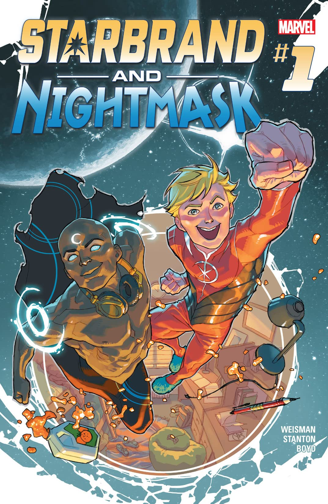 Starbrand and Nightmask (2015-2016) #1