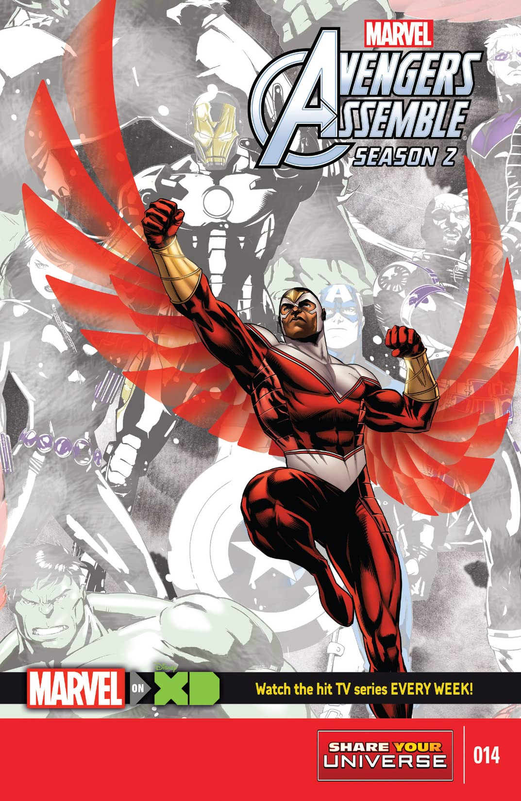 Marvel Universe Avengers Assemble Season Two (2014-2016) #14