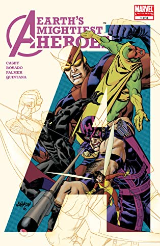 Avengers: Earth's Mightiest Heroes II (2006-2007) #1 (of 8)