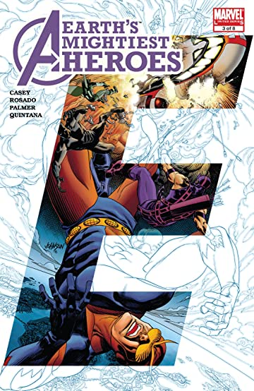 Avengers: Earth's Mightiest Heroes II (2006-2007) #3 (of 8)