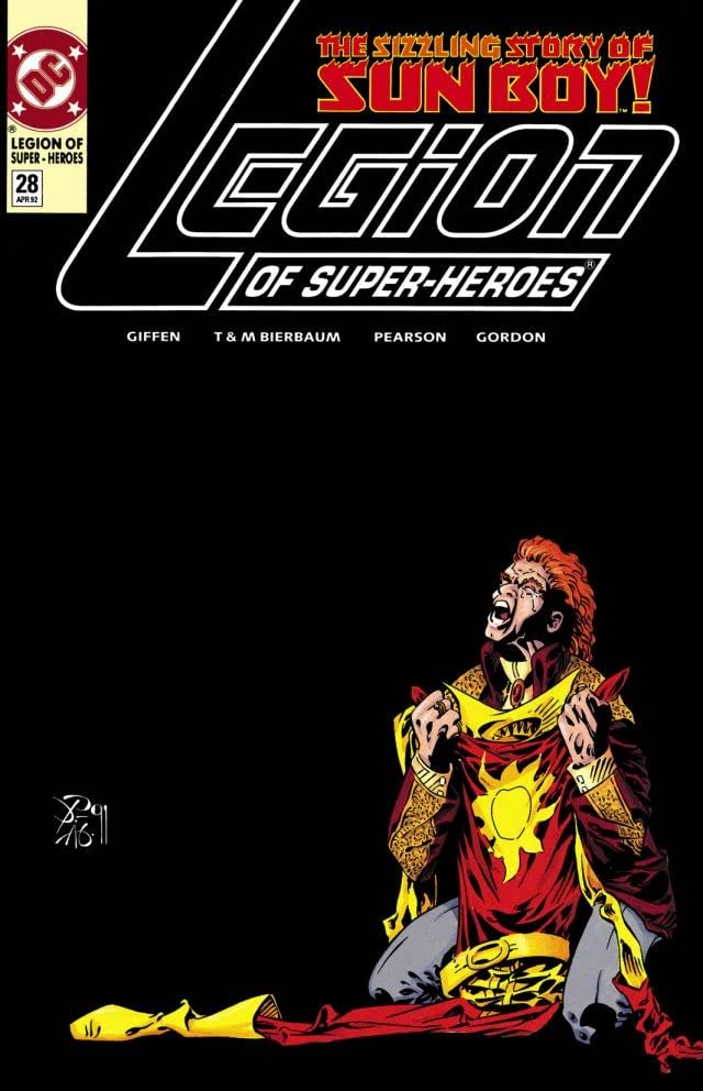 Legion of Super-Heroes (1989-2000) #28