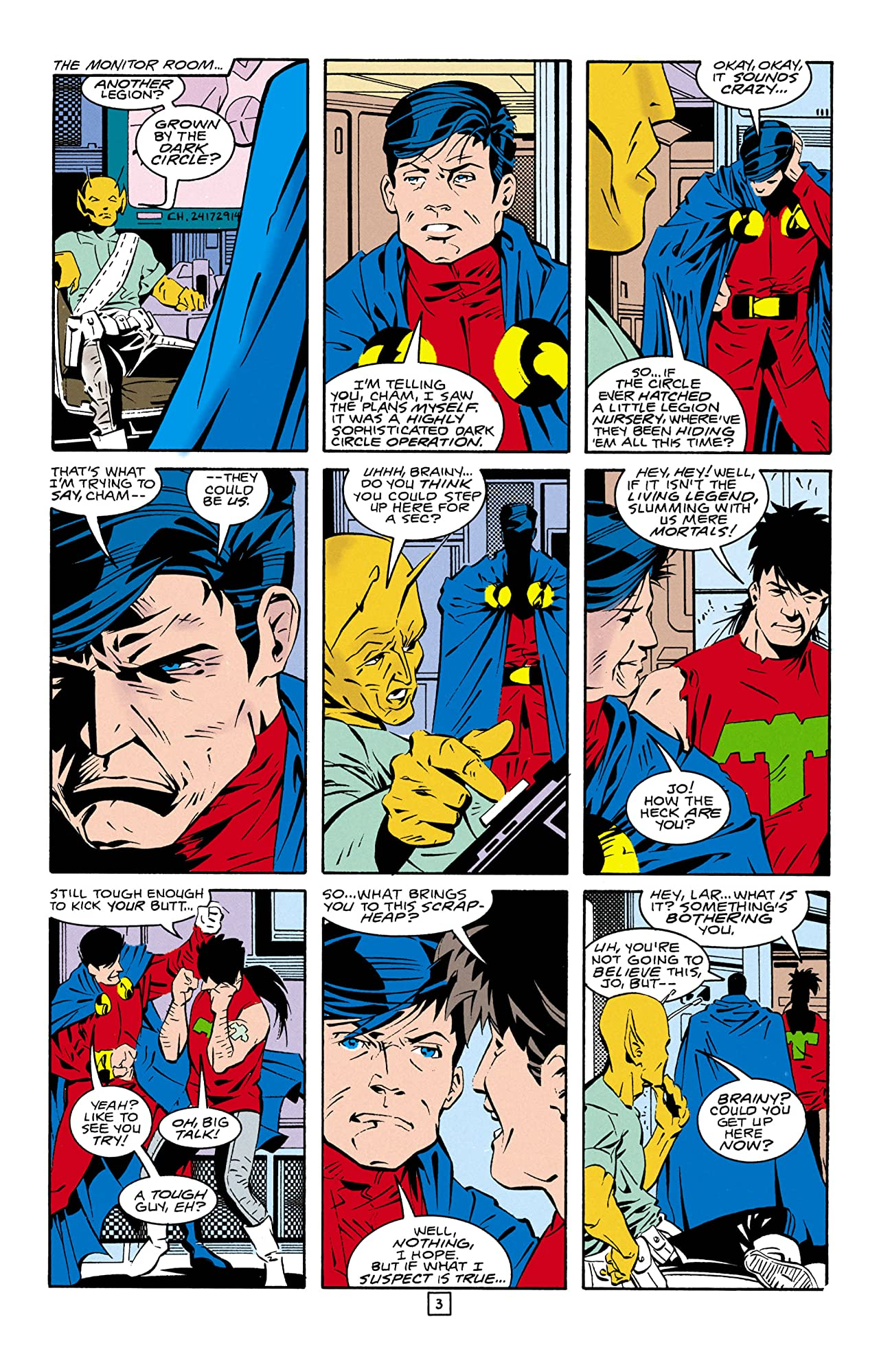 Legion of Super-Heroes (1989-2000) #29