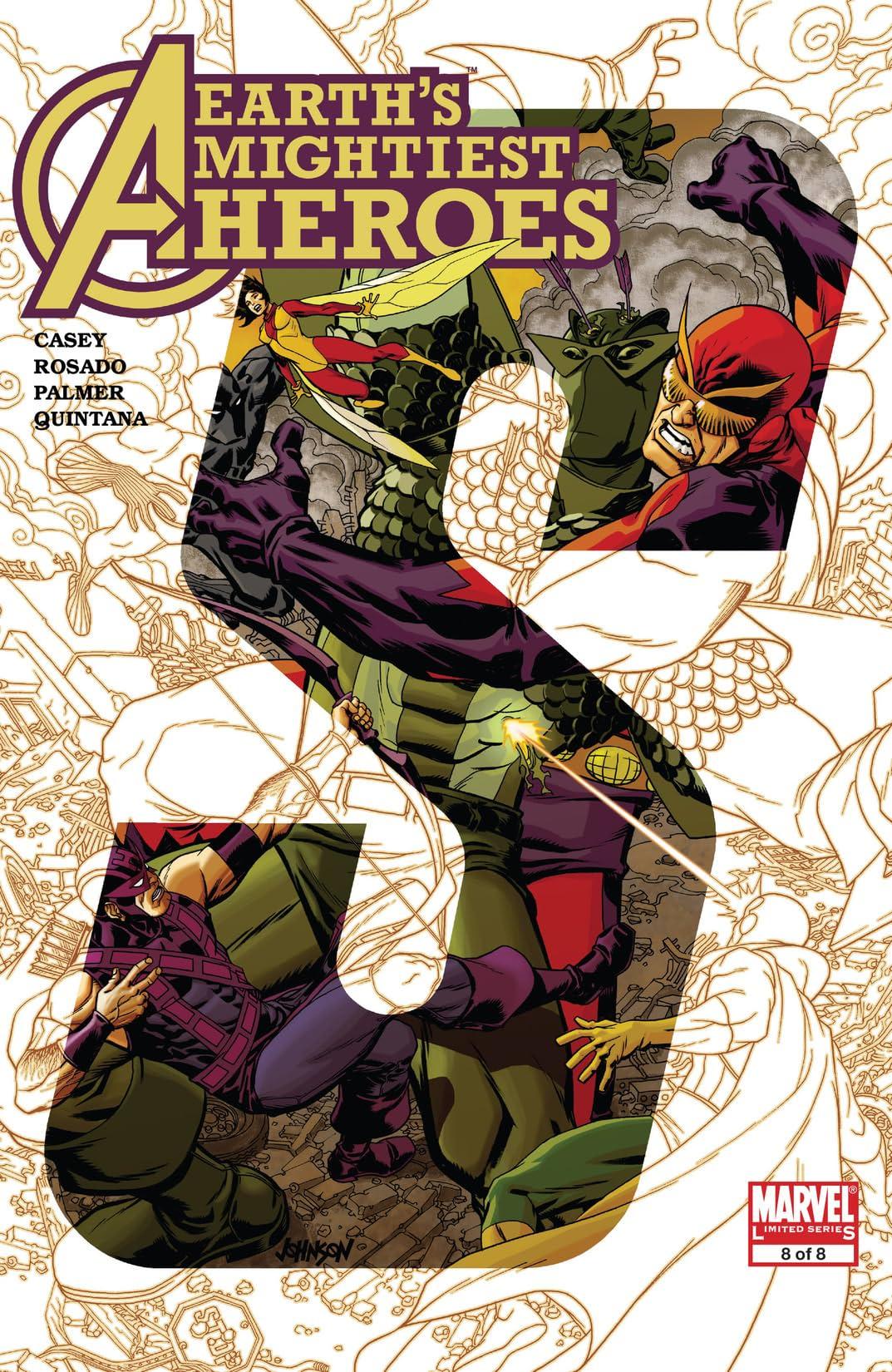 Avengers: Earth's Mightiest Heroes II (2006-2007) #8 (of 8)