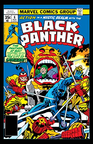Black Panther (1977-1979) #6