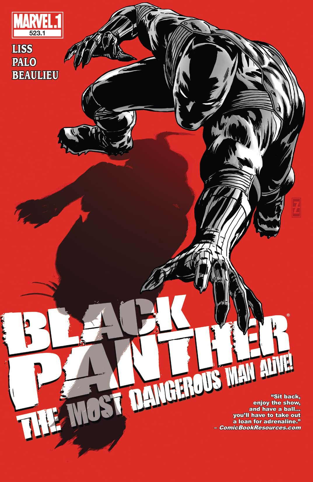 Black Panther: The Most Dangerous Man Alive (2010-2012) #523.1
